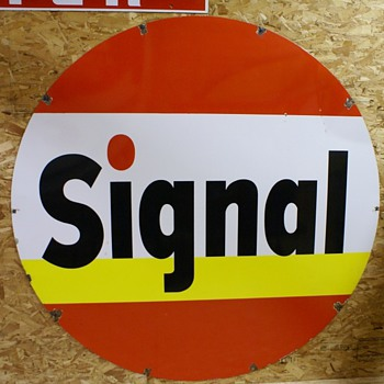 SIGNAL SIGN - 4 COLOR - Signs