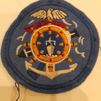 35th Transportation Corps Service Group patch, World War 2 - Military and Wartime
