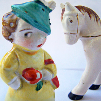 A Lady and Her Pony , Perfectly Matched Pair that's not a match!