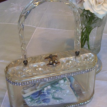Lucite Purse - Accessories