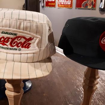 Vintage Coca Cola drivers caps - Coca-Cola