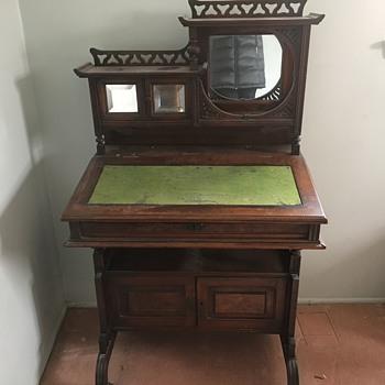 slant top desk - Furniture