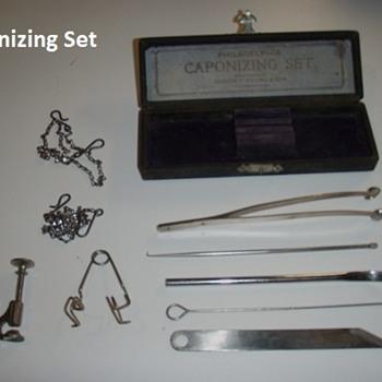 caponizing kit - Animals