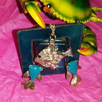 Adorable Fancy Goldfish Jewelry - Animals