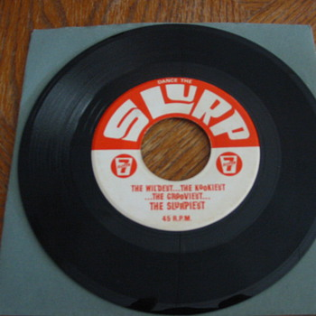 7-11 Dance the Slurp! 45 - Radio Promo!! - Records