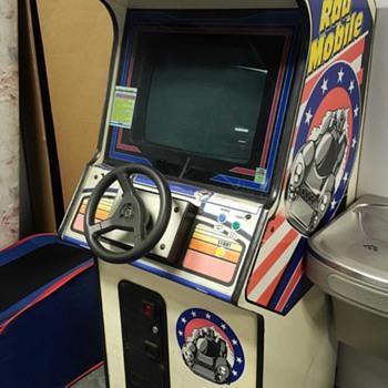 Rad Mobile 1991 By Sega      Arcade Coin-Op