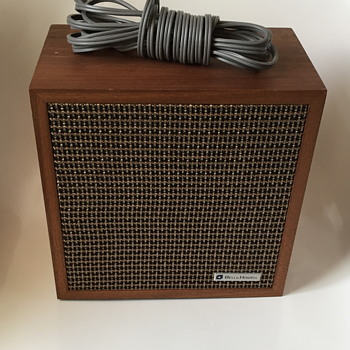 Bell and Howell speaker. - Electronics