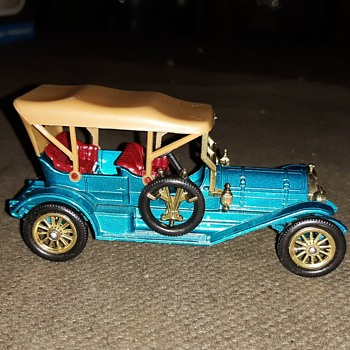 Musty Mostly Moldy Matchbox Monday Models of Yesteryear Y-12 1909 Thomas Flyabout - Model Cars