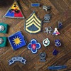 Korean War patches and pins