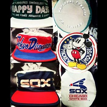 SKOAL TOBACCO HAPPY DAYS, TOKYO DISNEYLAND & CHICAGO WHITE SOX HATS - Hats