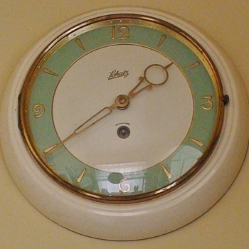 Schatz Art Deco Wind-Up Clock - Clocks