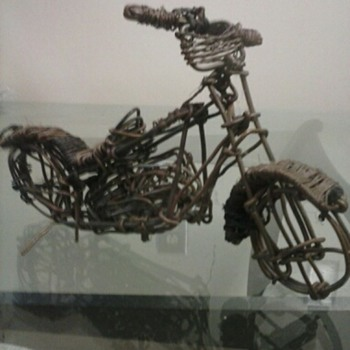 my favorite copper model harley motercycle