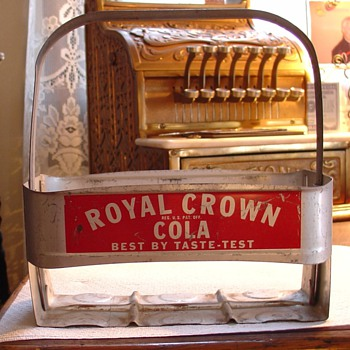 Royal Crown...Six Pkg. Carrier...From The 40's to the 50's - Advertising