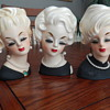 Platinum blondes - Lady Head Vases