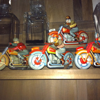 technofix wind up toys - Motorcycles