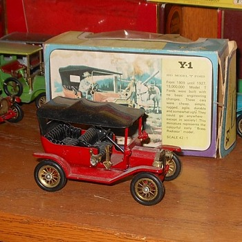Matchbox Ford Model T Models of Yesteryear Y1 - Model Cars