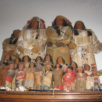 Skookum Dolls and the Story - Native American