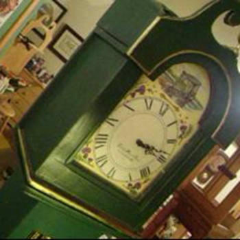 My Favorite Tall Case Wild Rose Clock - Clocks