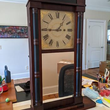 Daniel Pratt Clock - 1853 - Clocks