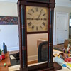 Daniel Pratt Clock - 1853