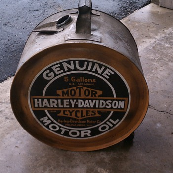 1920s harley oil can - Motorcycles