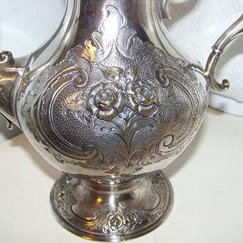 Tante Fina's Silver Teapot - Silver
