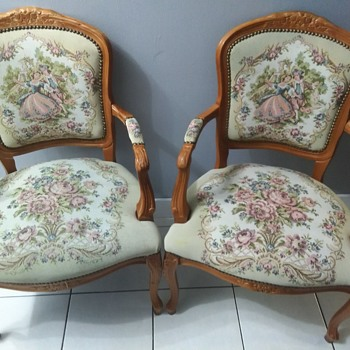 Wooden upholstered chair - Furniture