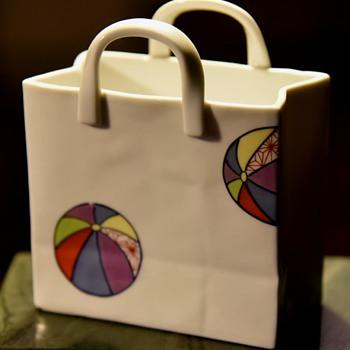 Little Porcelain Bag - Pottery