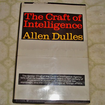 The Craft of Intelligence by Allen Dulles - Books