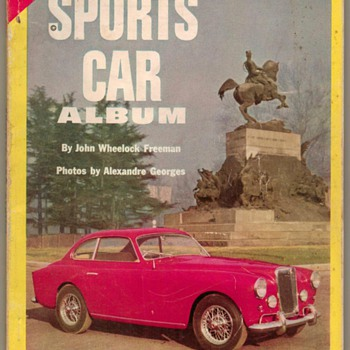 """1953 - """"Sports Car Album"""" Book"""