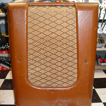 Help identify early 50s Danelectro guitar amplifier
