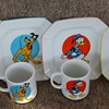 Disney Cups and Plates ~ Made in Japan