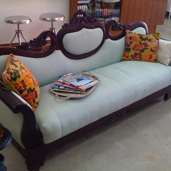 Couch From the 1800's - Furniture