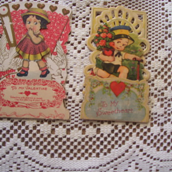 VINTAGE VALENTINES 1931, I COLLECT THEM!