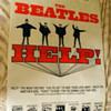 Beatles Help Soundtrack Store Poster