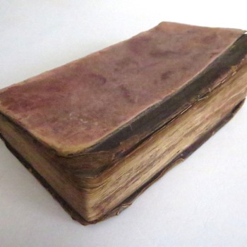 c.1732 One Of My Oldest Books - Books
