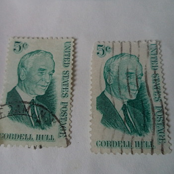 Cordell Hull 5cents USA Stamp