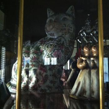 Porcelain Cat - Asian