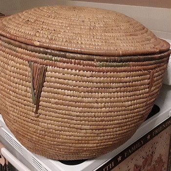 Native American Basket?? Please Help - Furniture