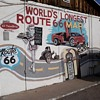 The El Trovatore Motel Kingman Arizona World's Largest Route 66 Map