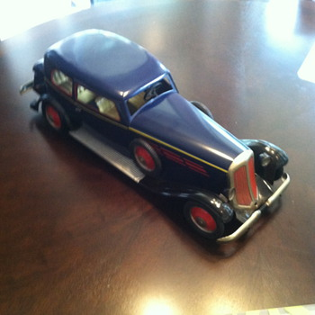 Tin windup car  - Model Cars