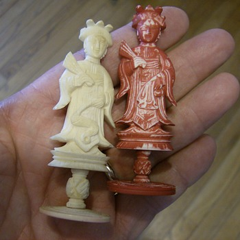 Ivory Chess Set - Asian