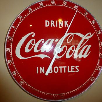 1950's Coca-Cola Thermometer - Coca-Cola