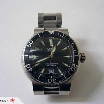 Help me restore my Oris Diving Watch 7533p - Wristwatches