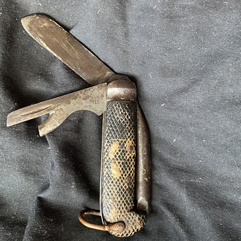 WW2 British soldiers pocket knife  - Military and Wartime