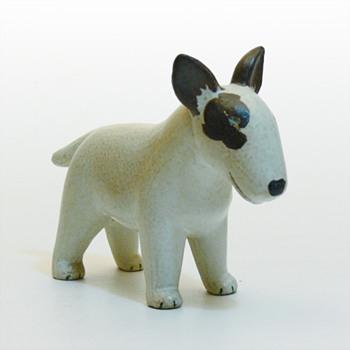 Bullterrier, Lisa Larson (Gustavsberg) - Pottery