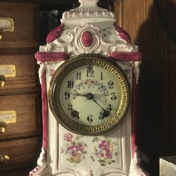 Antique Gilbert Clock - Clocks