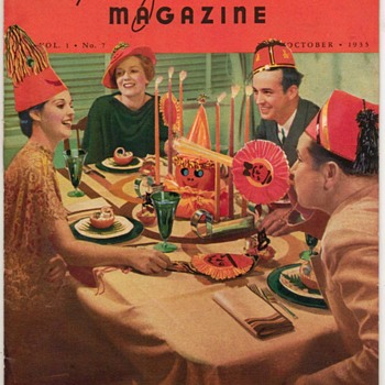 "1935 - ""Recipe of the Month"" Magazine - Books"