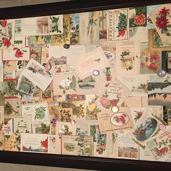 1900-1920 huge Christmas lot - Postcards