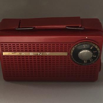 Kent tube radio. - Electronics